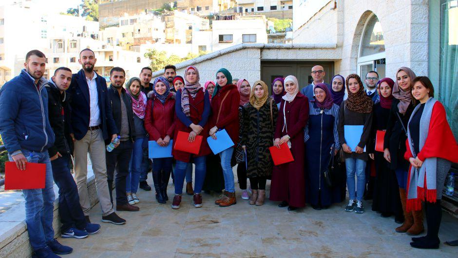 انطلاق برنامج تأهيل الشباب الرياديّين في نابلس