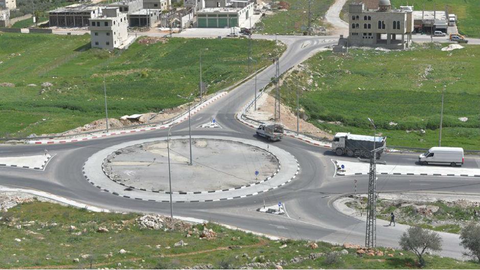 نابلس: البدء بتأهيل دوار ياسر عرفات
