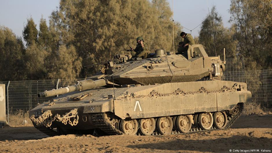 توتر في قطاع غزة بعد تفجير استهدف دبابة إسرائيلية