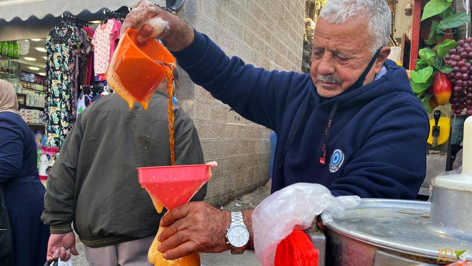 خيرات رمضان في أسواق نابلس