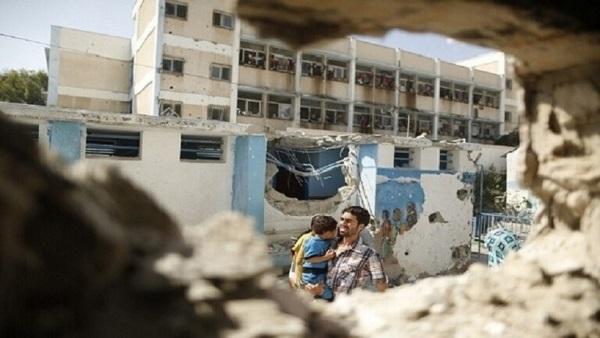 التربية تدين الجرائم بحق أطفال وطلبة مدارس غزة