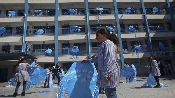 الأونروا تدين اغتيال أربعة أطفال من طلبتها بغزة